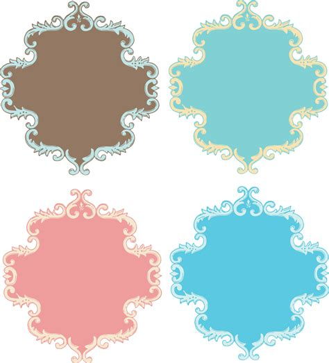 Frame Clipart 1208054 Illustration By by Free Vintage Images Ornate Scroll Frame Border Oh So