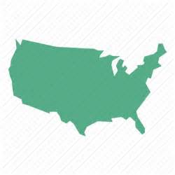 usa map icon free united states map icon