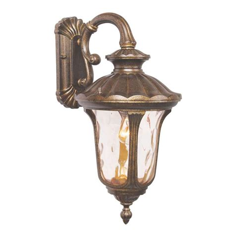 Moroccan Outdoor Lights Livex Lighting Providence Wall Mount 1 Light Moroccan Gold Outdoor Incandescent Lantern 7653 50