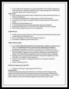 sles of excellent resumes resume exles 2014 54 images resume exle for an