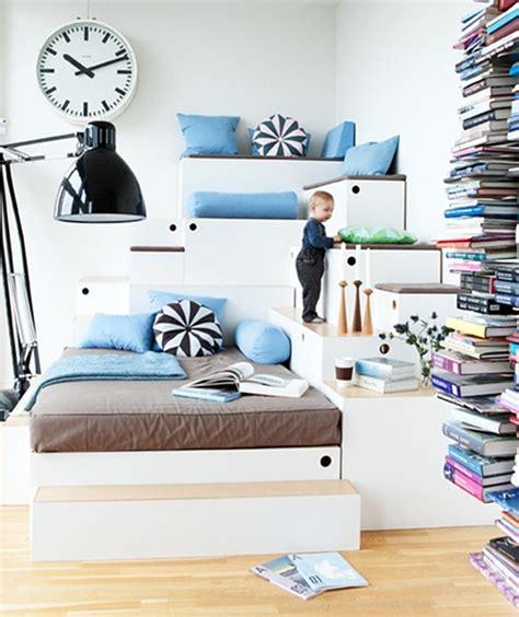 daily delight fancy trash can hgtv design blog multi level platform bedroom stacked platform bedroom