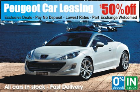 car leasing peugeot peugeot car leasing is cheaper at time4leasing