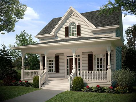 house plans historic small style home