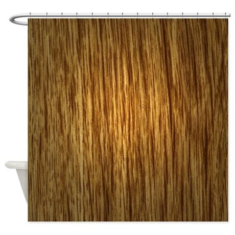 wood curtain wood grain shower curtain by poptopia1