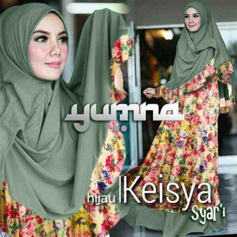 Baju Muslim Gamis Abaya Syar I Flower Kode758214 Gamis Bergo Keisya Bunga Y1190 Baju Muslim Cantik