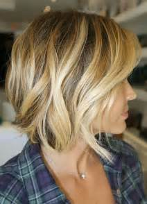 Difference Between Light Brown Sugar And Dark Brown Sugar Side View Of Short Wavy Bob Cut Best Bob Haircut For 2015