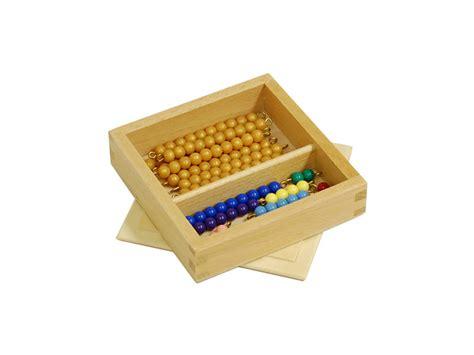 bead boxes bead box individual a2z montessori australia