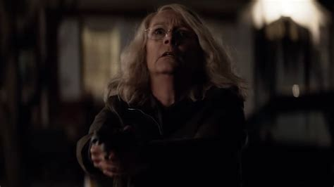 jamie lee curtis new halloween film chilling teaser spot for the new halloween movie quot you