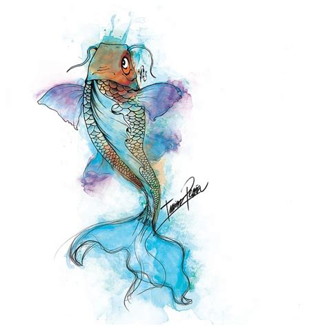 watercolor tattoo koi fish 17 best ideas about watercolor koi on