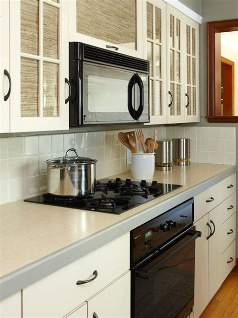 wallpaper cabinets pinterest cabinets galley kitchens and black appliances on pinterest