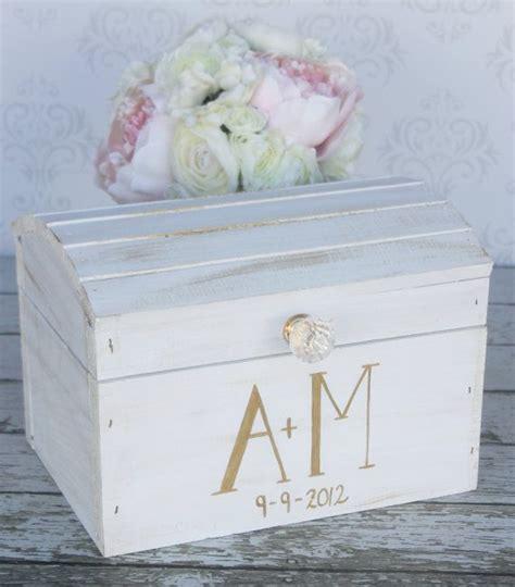 wedding card box vintage shabby chic wedding decor