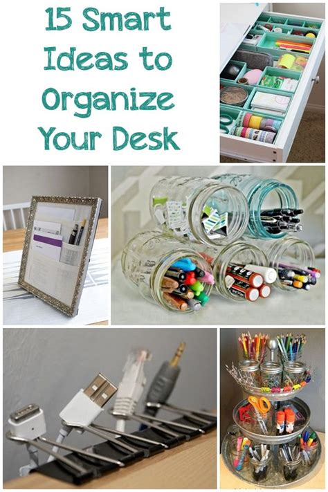 how to organize your desk at work 15 smart ideas to organize your desk work office