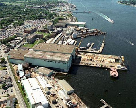general dynamics electric boat division shipyard - General Dynamics Electric Boat Division
