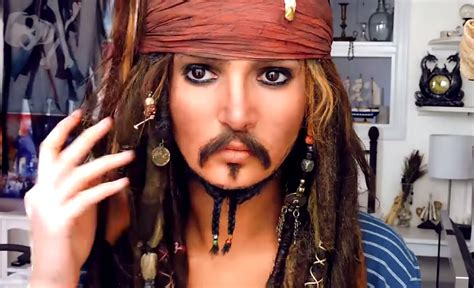 tutorial makeup jack sparrow halloween costumes with makeup costume ideas that only