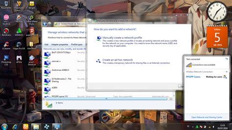 membuat jaringan wifi dengan laptop cara membuat jaringan wifi adhoc di laptop dan pc excation