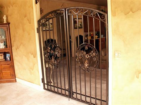 interior gates custom made to order from wrought iron or