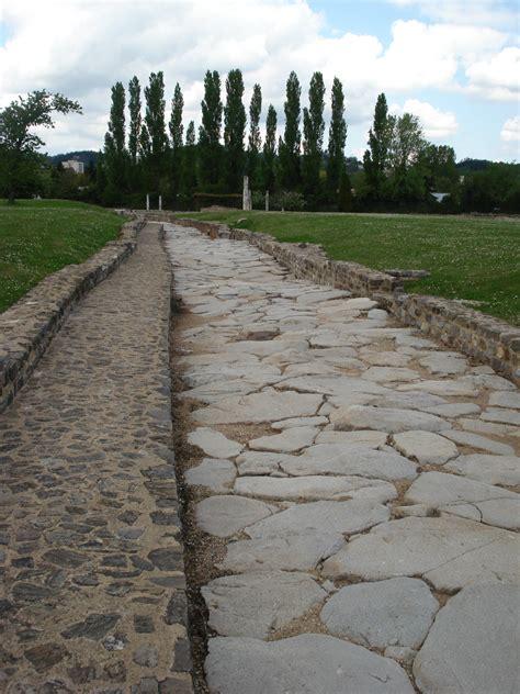 ancient greek roads file voie romaine st romain en gal jpg wikimedia commons