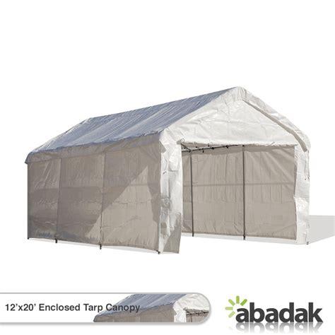 Enclosed Canopy Tent 12 X 20 Tarp Tent Canopy Enclosed