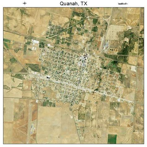 quanah texas map aerial photography map of quanah tx texas