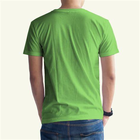 Kaos Polos Hijau Stabilo Xl toko jual grosir kaos distro kaos polos hijau stabilo