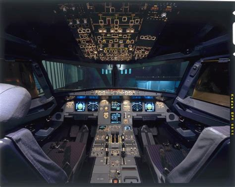 cabina a320 airbus a320 cockpit