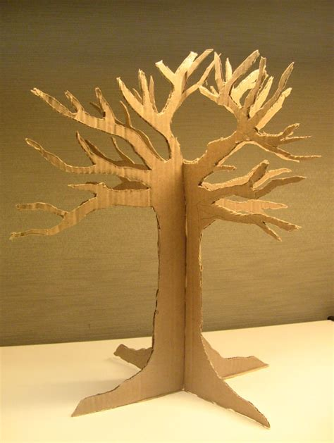 How To Make A 3d Tree Out Of Paper - portable props