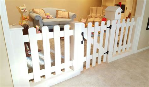 Baby Room Divider by Baby Gate Playroom Picket Fence Room Divider