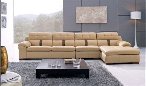 european leather sofa special simple european style l shaped corner combination leather sofa in living room sofas