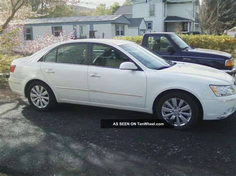 2010 hyundai sonata limited 2010 hyundai sonata limited sedan 4 door 3 3l