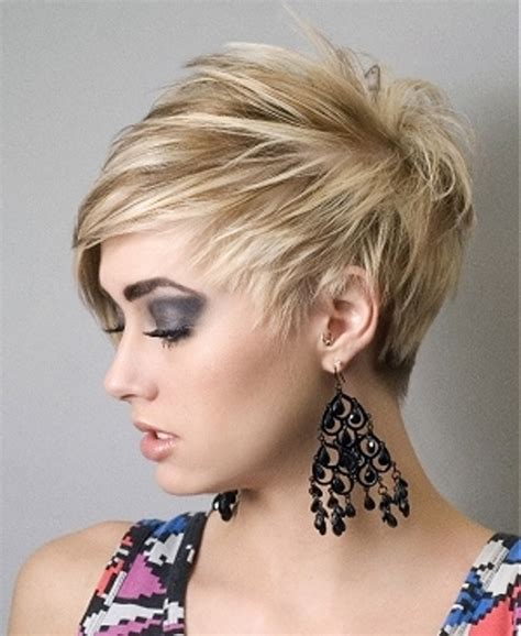 short spiky haircuts for round face women womens short cute short hairstyles for round faces flattering cute