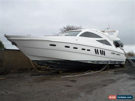 boat salvage parts for sale uk 2010 sealine t60 motor boat 19m repairable salvage