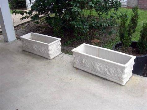 costruire vasi in cemento fioriera fioriere