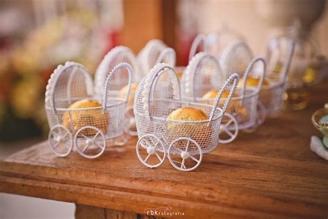 Stroller Baby Shower Theme by Kara S Ideas Baby Carriage Favors From A