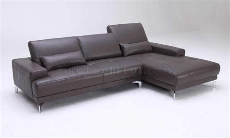 adjustable back sectional sofa grey leather modern sectional sofa w adjustable back