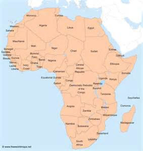 Countries Of Africa Map by Best Photos Of Map Of Africa With Countries African