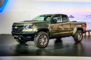 2015 chevrolet colorado zr2 concept front three quarter