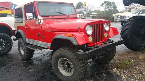cj jeep lifted 1979 jeep wrangler cj5 4wd lifted for sale in jacksonville