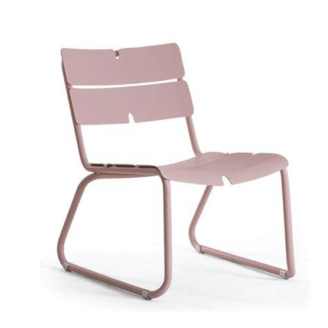 chaise basse chaise basse corail jardinchic
