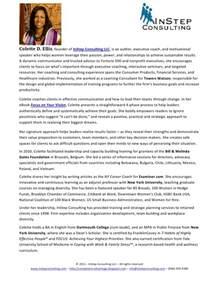 Sles Of Autobiography Essay by Colette Ellis Professional Bio