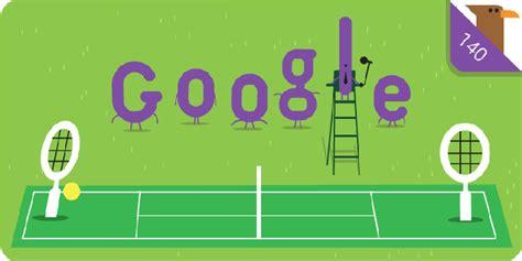 doodle tennis wimbledon chionship doodle celebrates 140 years
