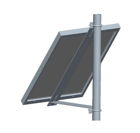 tilt brackets for solar panels universal solar panel fixed tilt side of pole rack