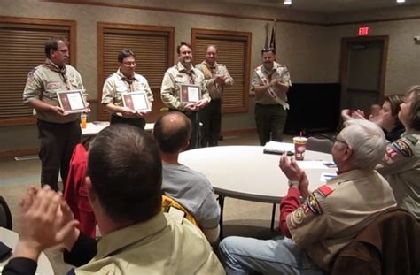 wood badge beading ceremony a scoutmaster s 187 archive 187 scouting