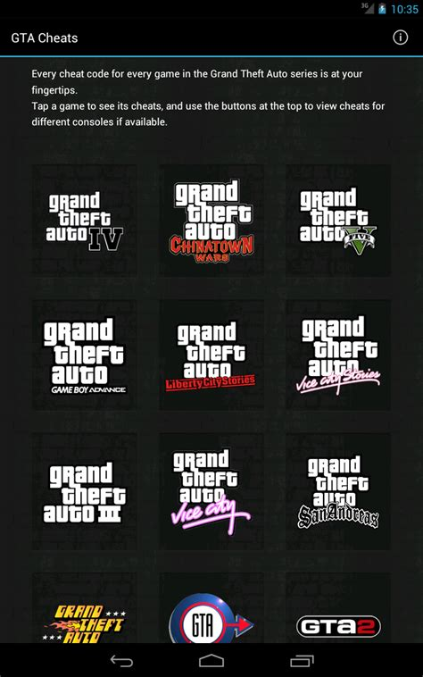 cheats for android the gta place cheats for gta available on ios android kindle windows