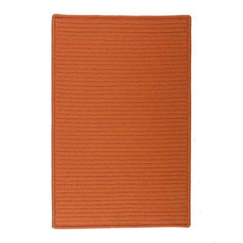 home decorators collection solid rust 12 ft x 15 ft