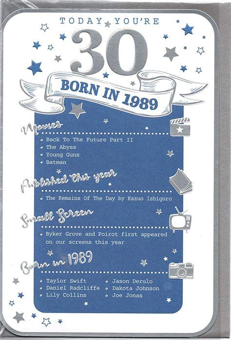 birthday age   year card    special year blue