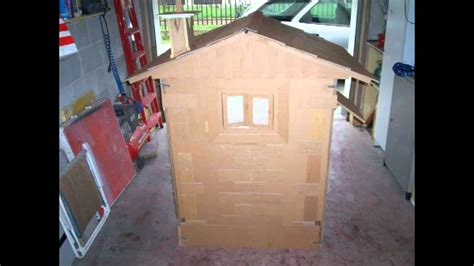 come costruire una casa di cartone casa di cartone