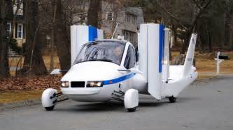 new plane car flying car terrafugia transition aircraft