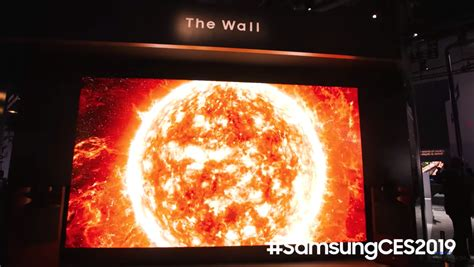 samsung 219 inch tv samsung unveils 219 inch tv called the wall and it s seriously impressive ladbible