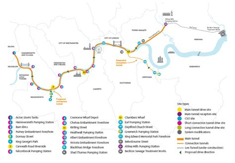 river thames cycle route map thames tideway tunnel index 171 the anonymous widower