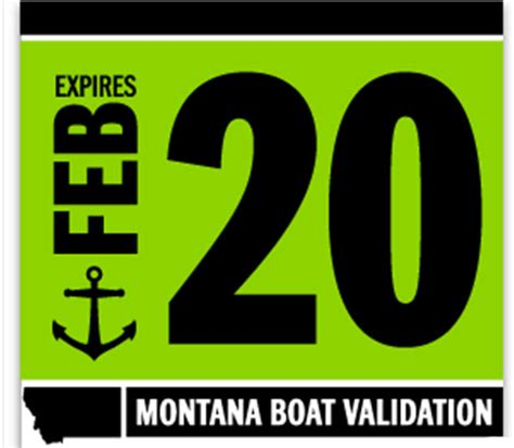 montana boat validation decals 2017 2020 montana boat decals required montana hunting